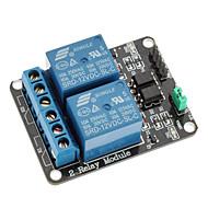 2 lm 12v lavt nivå utløser relé modul for (for arduino) (fungerer med offisielle (for arduino) boards)