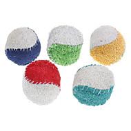 Игрушка для собак Игрушки для животных Шарообразные Игрушка для очистки зубов Мочалки и губки Мячи для тенниса Текстиль