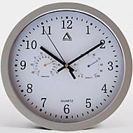 """12 """"Σύντομη Style Mute Ρολόι Καιρός Alarm"""