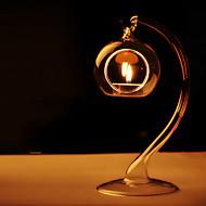 """7 """"Unikátní Glass Rose Gold Barva Svíčka Lucerna"""