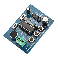 ISD1820 zvuku / hlasu Nahrávání a přehrávání Module Board (3 ~ 5V)
