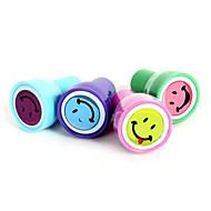 sellos de cara sonriente establecidos (4 piezas)