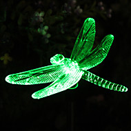 Solar RGB Dragonfly Garden Stake Luz