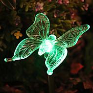 Solar RGB Butterfly Garden Stake Luz