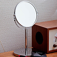 """13 """"H Clissic Style Double Dial Metal Tabletop Mirror (Color Randomed)"""