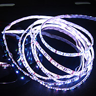White/Warm White Led Strip Light Waterproof 5M SMD 5050 300 LEDs/Roll + 12V 7A Power Adapter
