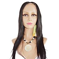 16inch Yaki diritto brasiliano parrucca capelli di Remy anteriore del merletto