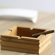 Creative Fashion Green Bamboo Ashtray