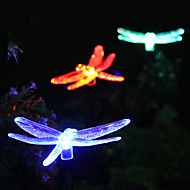 Solar Color-Changing Dragonfly Garden Stake Light(CIS-57254A)