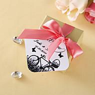 persoonlijk voorstander tags - fiets-en vlinder (set van 36)