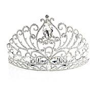 Dame Rhinsten / Legering Medaljon-Bryllup / Speciel Lejlighed Diademer Som på Billedet
