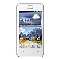 "Huawei y320 4,0 ""android 2.3 smarttelefon (dual core 1,3 GHz, to kamera, 512 MB ROM, 256mb ram, 3g, gps, wifi)"
