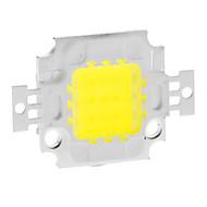 900mA 820-900LM DIY 10W 6000-6500K מגניב האור הלבן משולב LED מודול (9-12V)