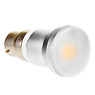 B22 5 W 1 COB 280-320 LM Warm White Globe Bulbs AC 85-265 V