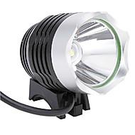 Bike Light , Front Bike Light - 3 Mode 1200 Lumens Waterproof / Rechargeable 18650 Battery Camping/Hiking/Caving / Cycling/Bike Silver