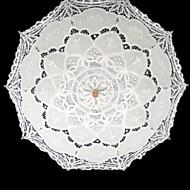 """Düğün / Maskeli Balo Dantel Şemsiye 37.8""""(Yaklaşık96cm)"""