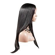 """20 """"Отлично Девы бразильские волосы волнистые Полный парик шнурка (темно-коричневый)"""