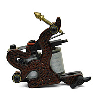 Casting Carbon Steel Dual kelat 8 Huivit Tattoo Machine Gun Shader