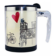 Automatic Stirring Cafe de Paris Coffee Mug,Metallic 14oz