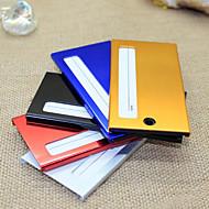 Etiquetas de Equipaje(Rojo / Oro / Plata / Azul / Negro) -Tema Clásico-No personalizado Aleación de zinc
