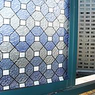 Geometrinen Classic Ikkunakalvo,PVC/Vinyl materiaali ikkuna Decoration