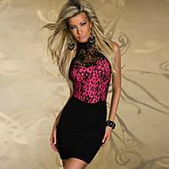 Charming Lady Black Lace Women's Nightclub Sexy Uniform