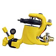 Wire-skjæring Rotary Tattoo Maskin for Liner og Shader (gul)