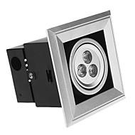 3W 3 High Power LED 300 LM Cool White LED Recessed Lights AC 85-265 V