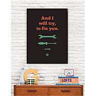 Palavras Arte em tela esticada Fix You