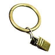 Stilul retro bronz Roma Clip Ring (diametru 2.7cm)