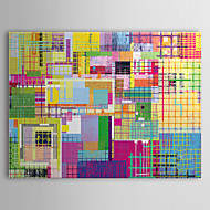 Stretched Canvas Art Pop Art Multicolored Abstract Ready to Hang