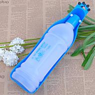 Hund Schalen & Wasser Flaschen Haustiere Schüsseln & Füttern Tragbar Rot Blau