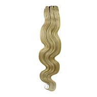 indische Haareinschlagfaden 22inch Klasse 5a Körperwelle 100g mehr Farben vorhanden