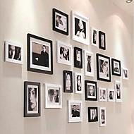Sort Farve fotoramme Collection Set af 23