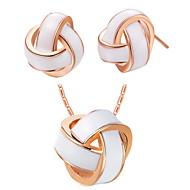 Women's Gold/Silver Jewelry Set