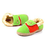 Casual Solid Color Wool Naisten Slide Slipper - 2 Värit Saatavilla olevat