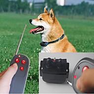 Hunde Gø Halsbånd Træningshalsbånd til hunde Anti-Gø Fjernbetjening Elektronisk/Elektrisk Vibrering Solid Sort Nylon