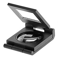 10X Metal Folding Pocket Jewelry Loupe Magnifier Magnifying Glass with Scale