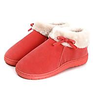 Casual Solid Red Wool Naisten Slide Slipper
