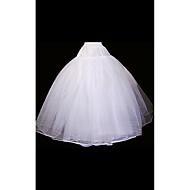 Slips Ball Gown Slip Floor-length 2 Organza White