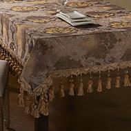 Or Broderie Tissu européen de table floral