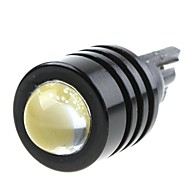 3W High Power White SMD LED Bil T10 W5W 194 927 161 Side Wedge Lampe pære