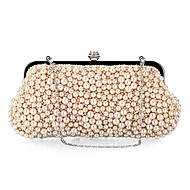 Polyster/Pearls Wedding/Special Occasion Clutches/Evening Handbags(More Colors)