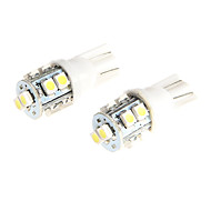 Ampoule LED 10 SMD 1210 lampe de couleur blanche pour moto 2PCs