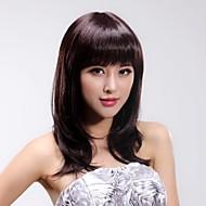 פאות האופנה השיער מסודרות מפץ ארוך ישר שיער