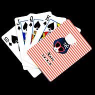 , Személyre szabott ajándékot Pink Beauty Pattern Playing Card