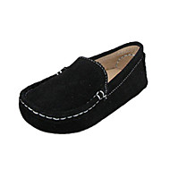 Girl's Loafers & Slip-Ons Spring / Summer / Fall / Winter Comfort Leather Casual Flat Heel Black / Blue / Brown / Purple