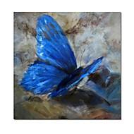 Pintados à mão lona Pintura da borboleta, com quadro esticado pronto para pendurar