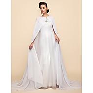 Long Sleeve Chiffon Wedding/Party Hoods