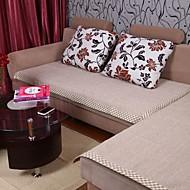 Elaine coton chanvre bordure grise coussin de canapé 333861